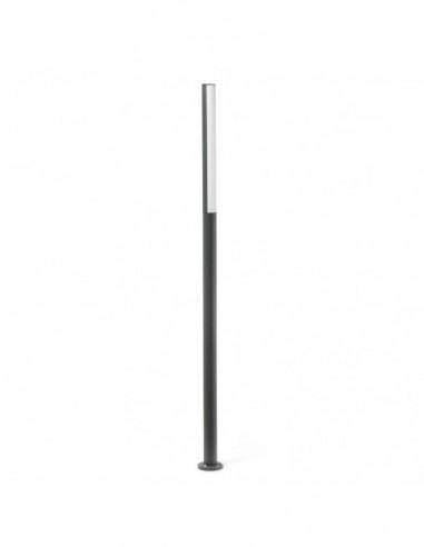 Farola Beret Led 16w gris 180cm 75524...