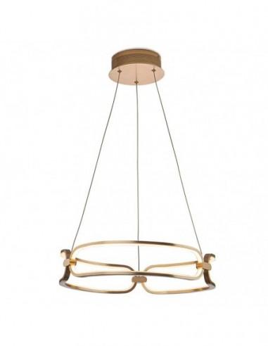 Lámpara de techo Colette dorado Ø47cm...