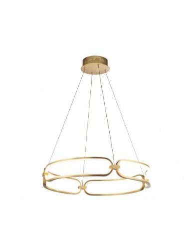 Lámpara de techo Colette dorado Ø60cm...