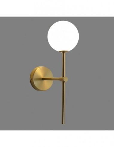 Lámpara aplique moderno dorado Doris...