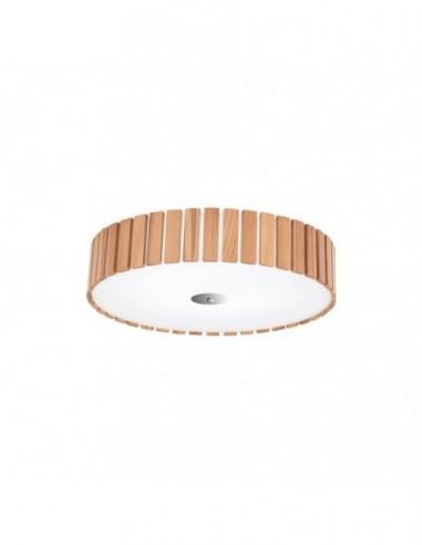 Lámpara plafón de madera de fresno...