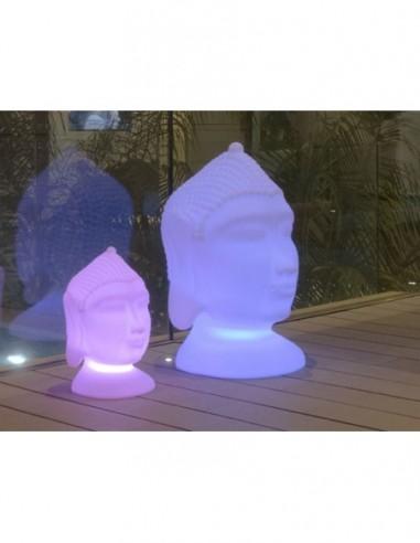 Lámpara decorativa cabeza de Buda Goa...