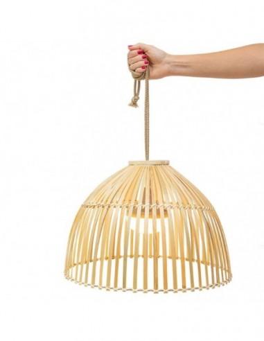 Lámpara colgante exterior sin cables...
