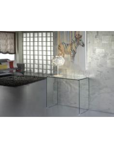 Consola de cristal Glass...
