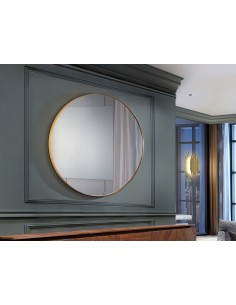 Espejo de pared redondo...