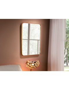 Espejo de pared rectangular...