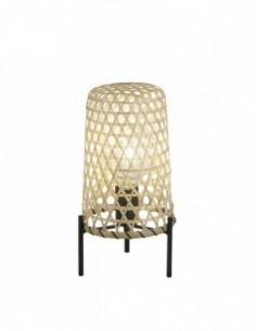 Lámpara sobremesa de bambú...