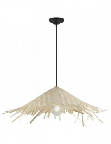 Lámpara de techo Pipper de bambú...