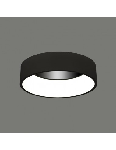 Lámpara plafón led negra o blanca...