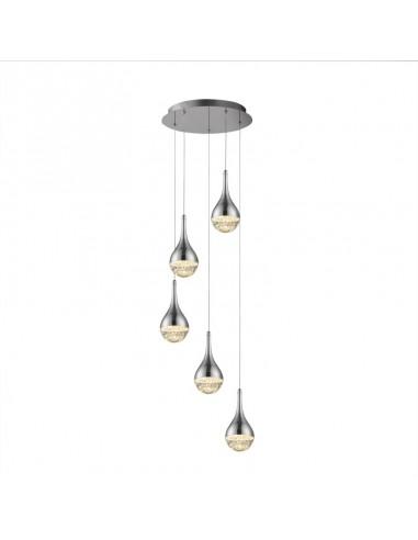 Lámpara de techo de led Elie 5 luces...