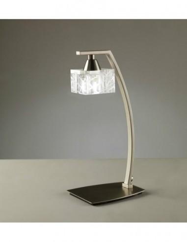 Lámpara sobremesa Zen 1L níquel 1447...
