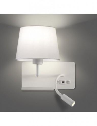 Aplique Hold 16/3664 E27+LED...