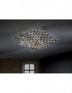 Lámpara plafón cristales...