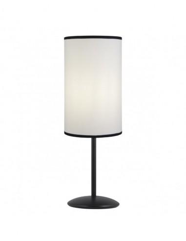 Lámpara sobremesa pantalla de tela...