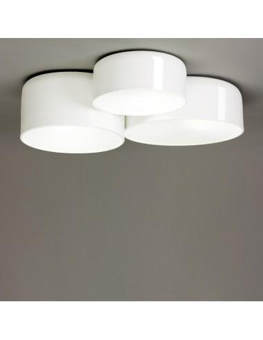 Lámpara plafón triple Pot  24210/60...