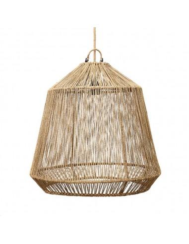 Lámpara colgante fibras naturales The...