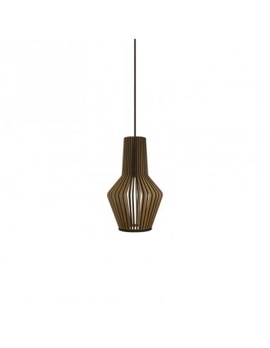 Lámpara colgante de madera Mina de...