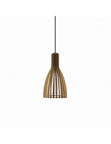 Lámpara colgante de madera Casiopea...