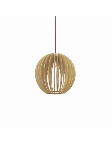 Lámpara colgante de madera Dacnis de...