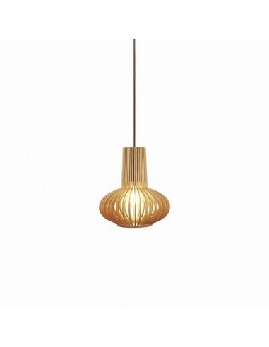 Lámpara colgante de madera Miriam de...