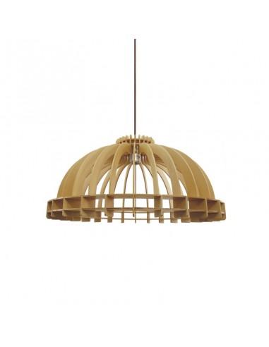 Lámpara colgante de madera de fresno...