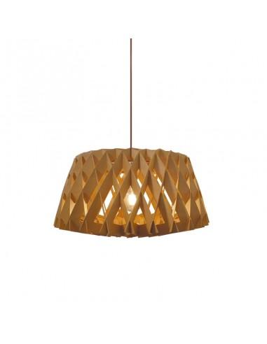 Lámpara colgante de madera Ø 60cm...