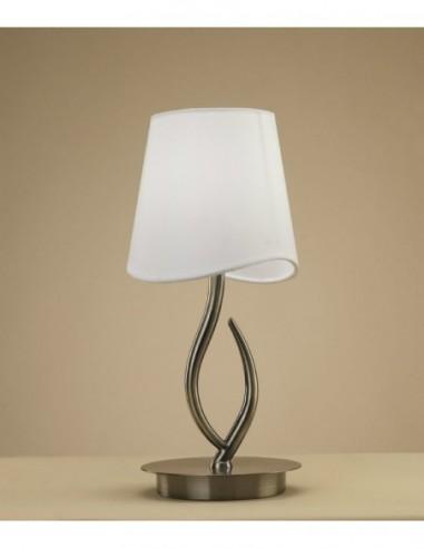Lámpara sobremesa Ninette  1L cuero...