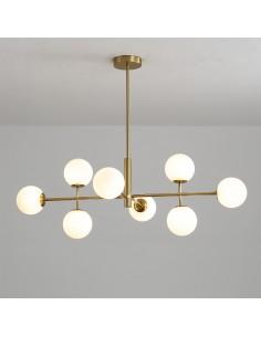 Lámpara de techo oro /...