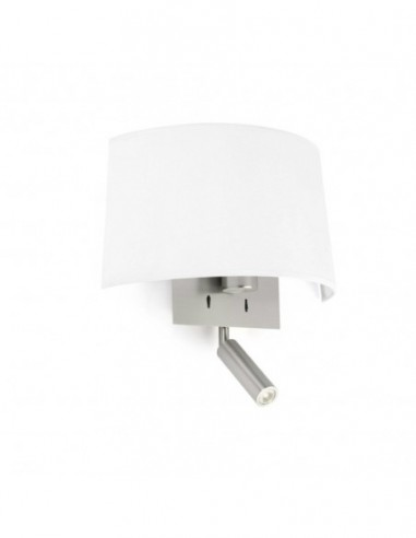 Aplique Volta con lector led blanco...