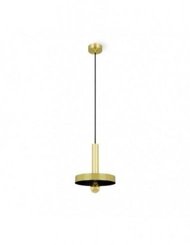 Lámpara de techo Whizz oro satinado y...