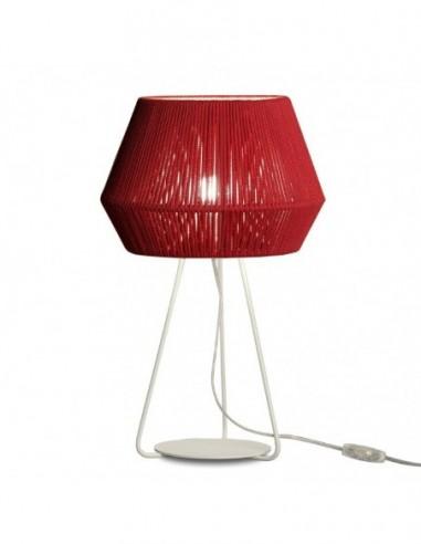 Lámpara sobremesa Banyo Rojo 22001...