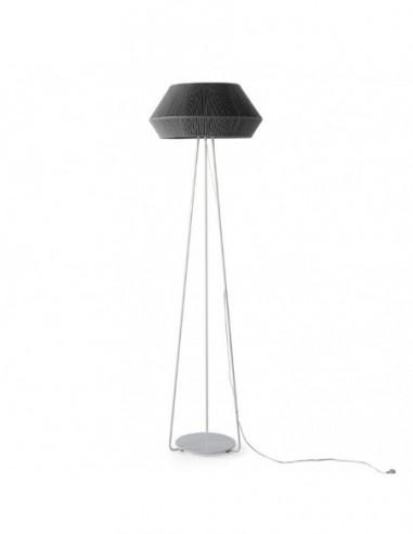 Lámpara de pie Banyo  gris 22002 Olé...