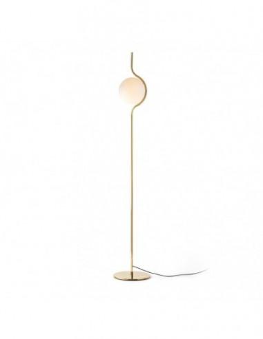 Lámpara de pie oro Le Vita Led 29693...