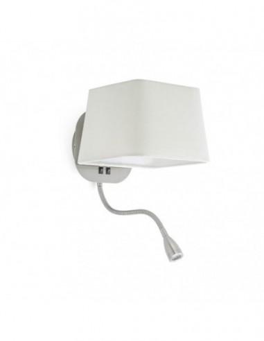 Lámpara aplique Sweet con lector LED...
