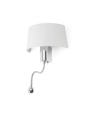 Lámpara aplique Hotel con lector LED...