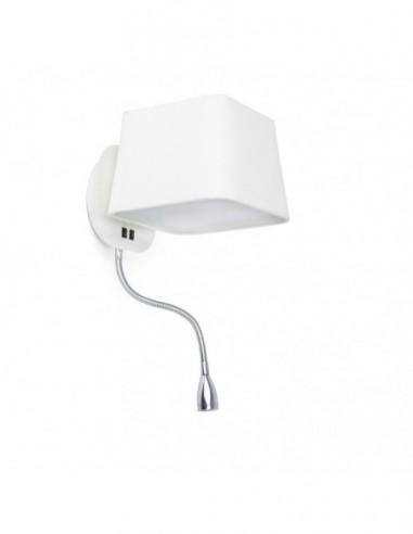 Aplique Sweet con lector LED  blanco...