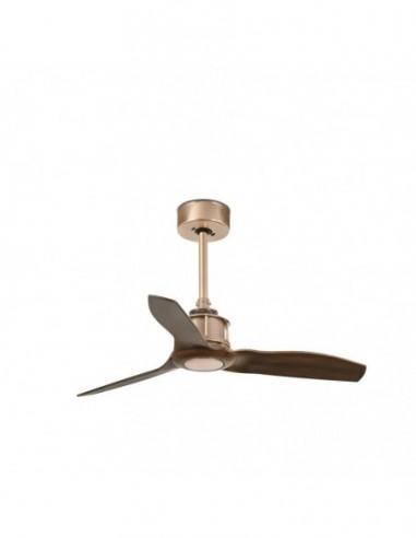 Ventilador Just Fan cobre y palas de...