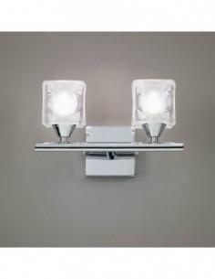 Lámpara aplique Cuadrax 2L...
