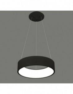 Lámpara de techo led negra...
