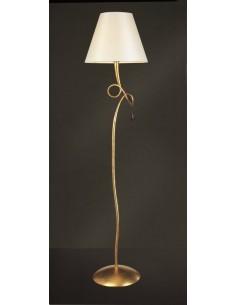 Lámpara de pie Paola 1L oro...