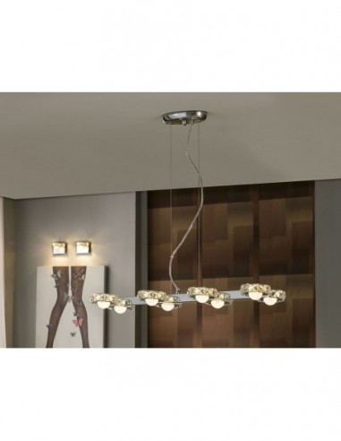 Lámpara de techo Suria 8 luces led...
