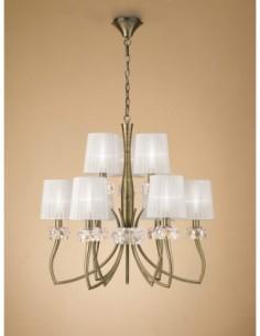 Lámpara Loewe  6+3Luces...