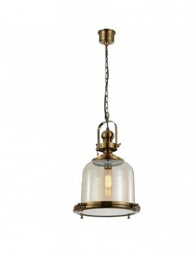Lámpara colgante Vintage 1L grande...