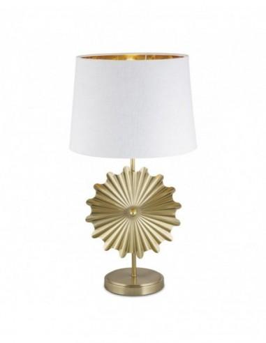 Sobremesa metal  color oro Oris 60065...