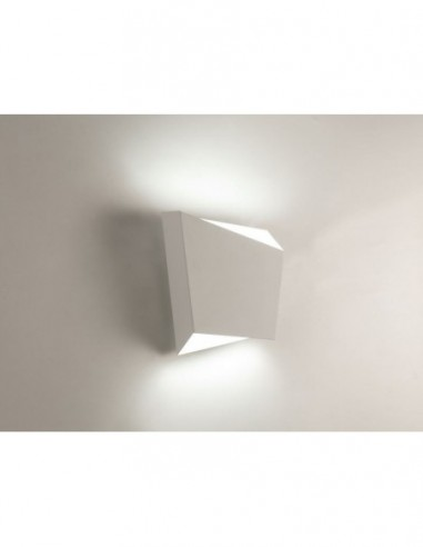 Lámpara aplique Asimetric blanco 6220...