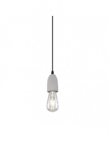 Lámpara pendel cemento Foz 1L 10347 Ajp