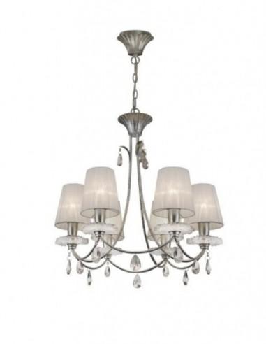 Lámpara techo Sophie 6 luces 6292...