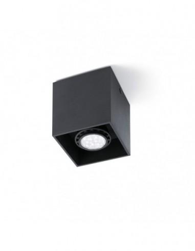 Plafón Tecto-1 negro 63271 Faro...