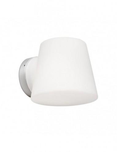 Lámpara aplique de baño Bianca cromo...