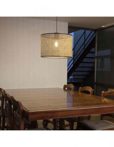 Lámpara de techo de ratán Mambo Faro...